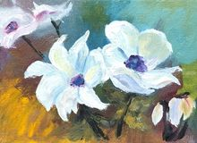 White Poppies, , , , , By Sherry Robinson