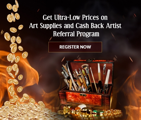 Discount Art Supply and Referral Rewards Program